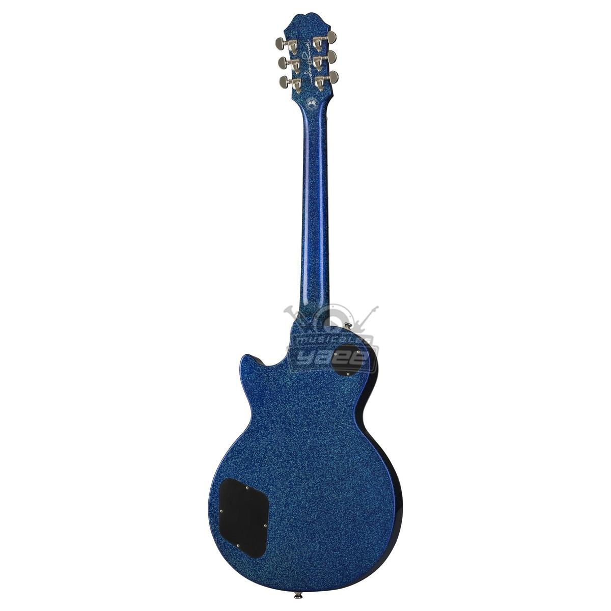 GUITARRA EPIPHONE  LES PAUL TOMMY THAYER SIGNATURE  LimiTeD Edition BLUE OUTFIT